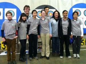 PRA's Junior Olympic Archery Development program at the State championship in Tulare.